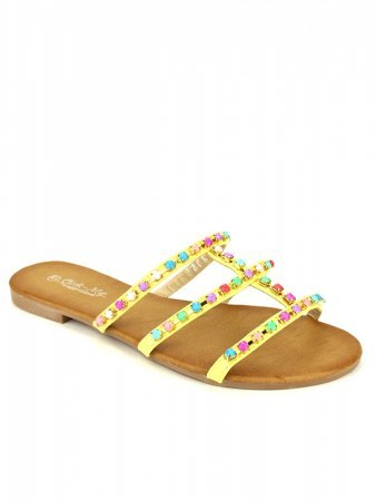 Sandale Yellow CINKS MEO, image 02