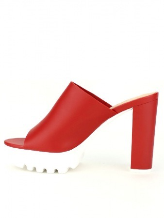 Mule Fashion Rouge STEPHAN, image 03