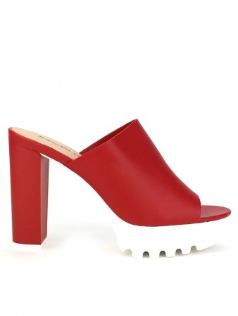 Mule Fashion Rouge STEPHAN