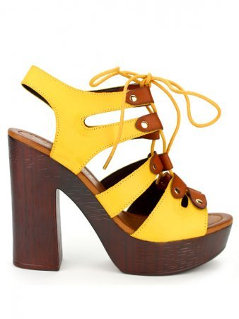 Sandale Yellow LE LUX MODE