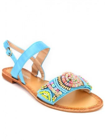 Sandale Color Turquoise BO'AIME, image 02