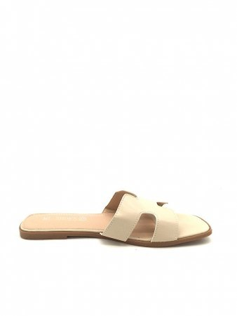 Mules Grande Taille Beige ML SHOES, image 02
