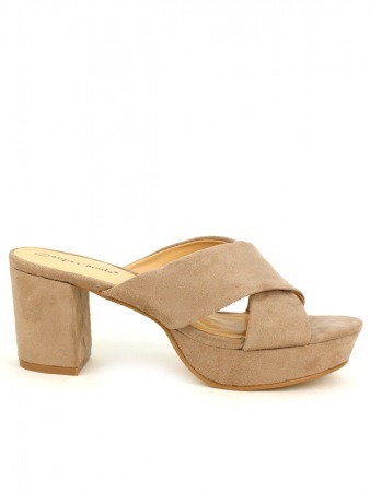 Sandale Taupe SUP'MODE