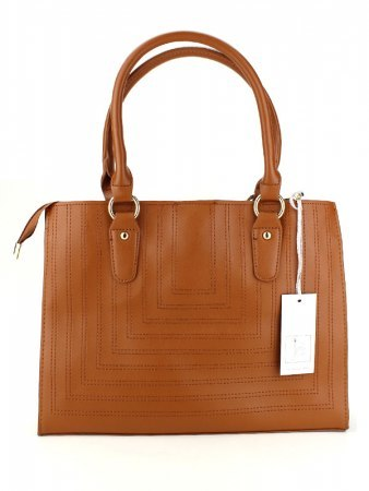 Sac simili cuir Camel FELLS