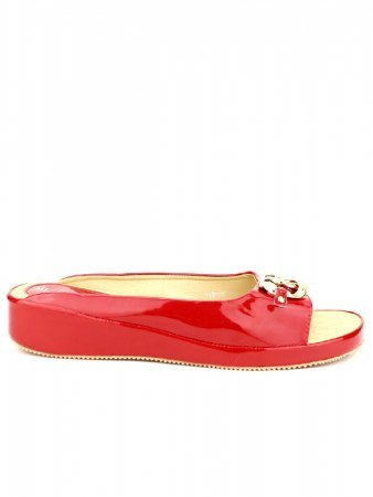 Mules Rouge vernies ML SHOES, image 02