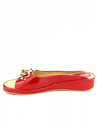 Mules Rouge vernies ML SHOES, image 03