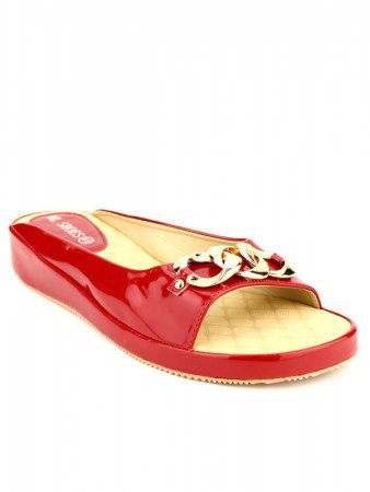 Mules Rouge vernies ML SHOES