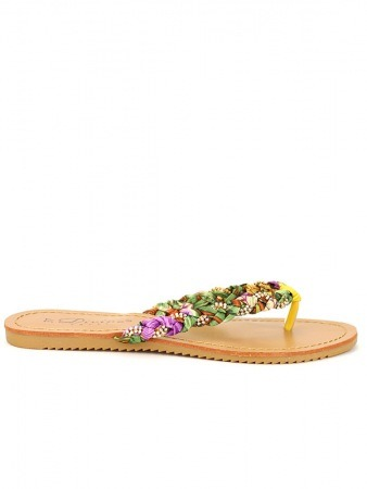 Tongs Multicolores Tresses DIVINE