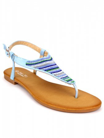Tongs bleu ciel CINKS MEE
