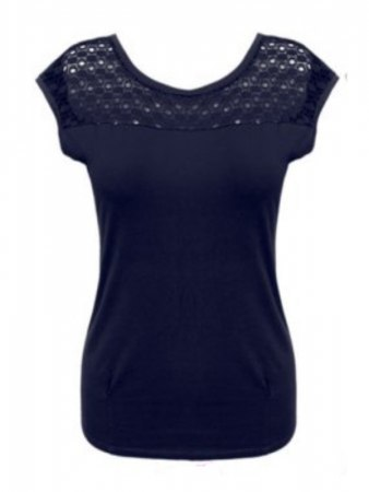 Top Basique Bleu marine IDEAL