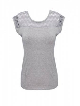 Top Basique Gris IDEAL