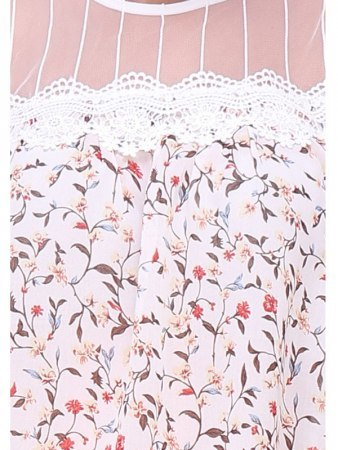 Blouse Rose FLOWERS, image 03
