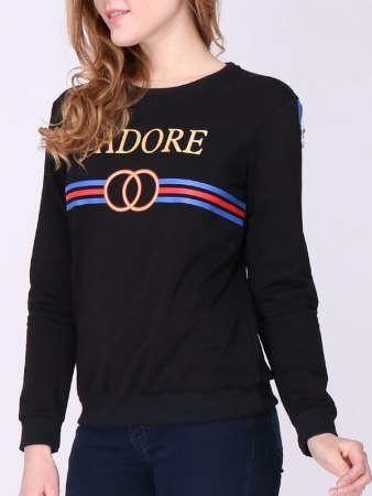 Sweat imprimé J ADORE INTEMPORELLE
