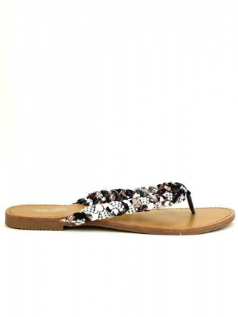 Tong color black Floral CINKS