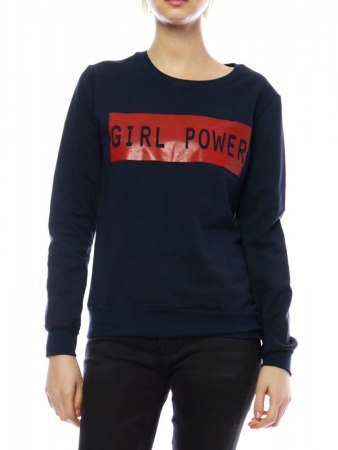 Swaet GIRL POWER Color bleu marine