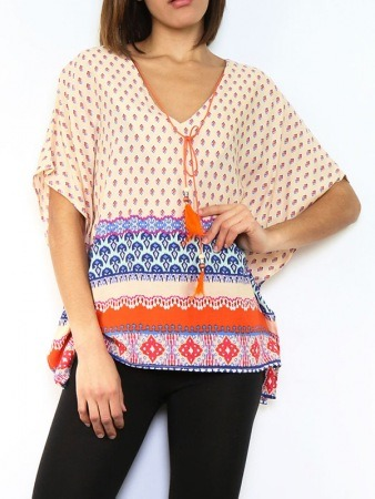 Tops Orange corail JOWELL