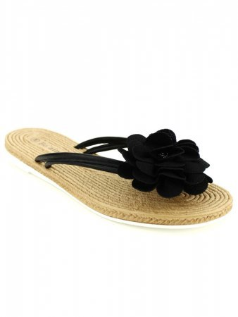 Tong color noire FLOWERS CINKS