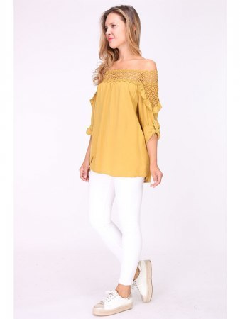Blouse Moutarde ANNA, image 03